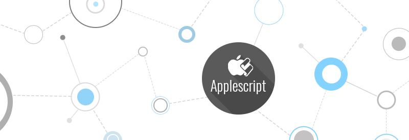Applescript, automation technologies